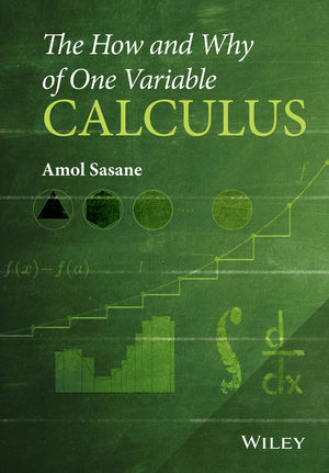 The How and Why of One Variable Calculus (1119043433) cover image
