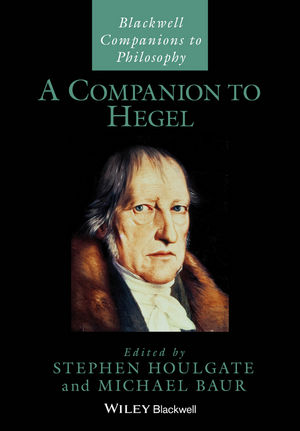 A Companion to Hegel (1119144833) cover image