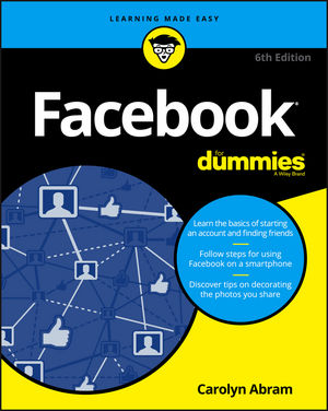 Facebook For Dummies, 6th Edition (1119179033) cover image