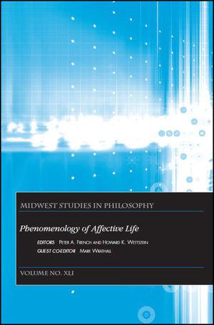 Phenomenology of Affective Life, Volume XLI