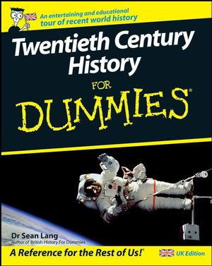 Twentieth Century History For Dummies (1119997933) cover image