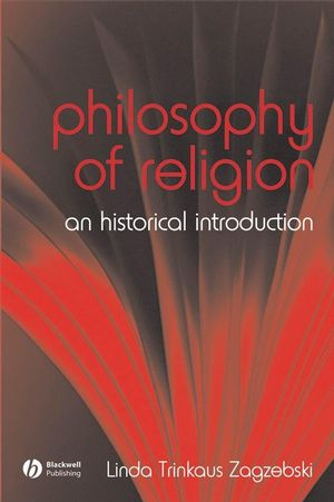 The Philosophy of Religion: An Historical Introduction (1405118733) cover image