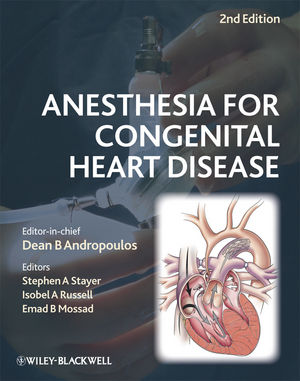 Anesthesia for Congenital Heart Disease, 2nd Edition (1444357433) cover image