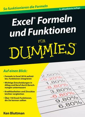 Excel Formeln und Funktionen für Dummies, 3. Auflage