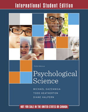 Psychological Science, 5th International Student Edition