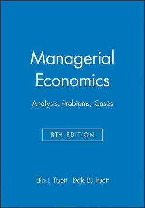 Managerial Economics: Analysis, Problems, Cases, 8th Edition
