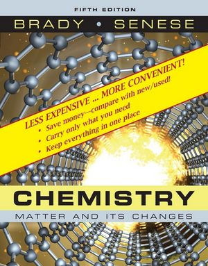 Chemistry: The Study of Matter and Its Changes, 5th Edition Binder Ready Version