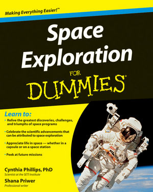 Space Exploration For Dummies (0470445734) cover image