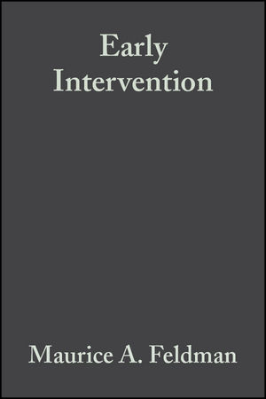 Early Intervention: The Essential Readings (0470754834) cover image