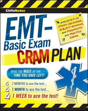CliffsNotes EMT-Basic Exam Cram Plan (0470878134) cover image