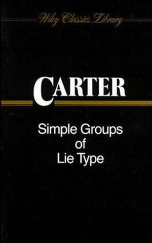 Simple Groups of Lie Type (0471506834) cover image