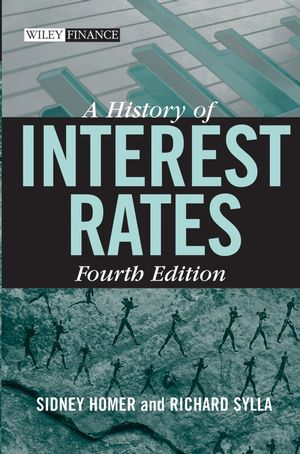 A History of Interest Rates, 4th Edition (0471732834) cover image