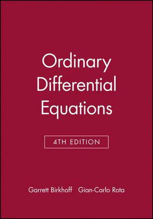 Ordinary Differential Equations, 4th Edition