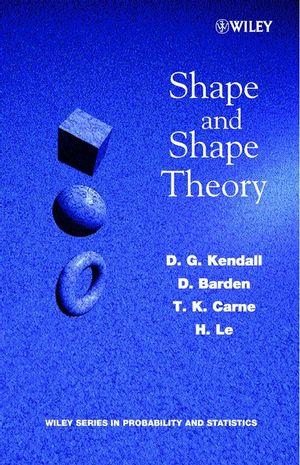 Shape and Shape Theory (0471968234) cover image