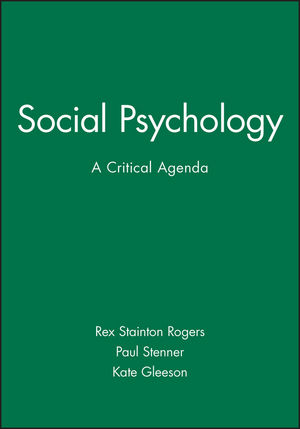 Social <span class='search-highlight'>Psychology</span>: A Critical Agenda