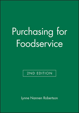 Purchasing for Foodservice, 2nd Edition (0813814634) cover image