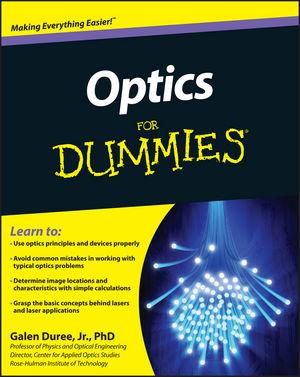 Optics For Dummies (1118017234) cover image