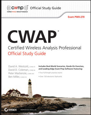 CWAP Certified Wireless Analysis Professional Official Study Guide: Exam PW0-270 (1118075234) cover image