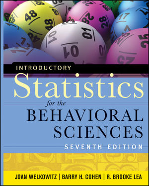 Introductory Statistics for the Behavioral Sciences, 7th Edition (1118149734) cover image