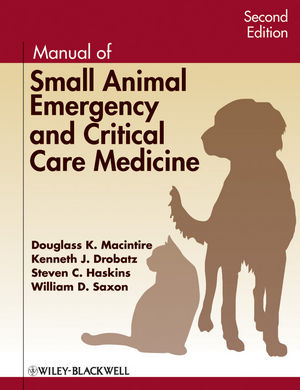 Manual of Small Animal Emergency and Critical Care Medicine, 2nd Edition (1118351134) cover image