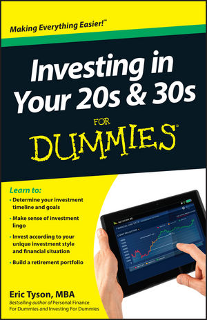 Investing in Your 20s & 30s For Dummies (1118411234) cover image