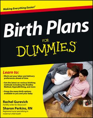 Birth Plans For Dummies (1118432134) cover image