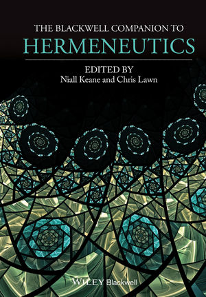The Blackwell Companion to Hermeneutics Book Cover