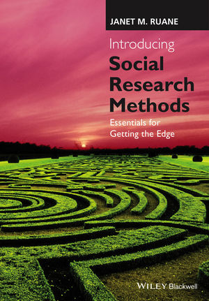 Introducing Social Research Methods: Essentials for Getting the Edge  (1118874234) cover image