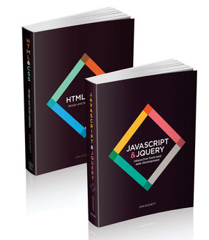 Web Design with HTML, CSS, JavaScript and jQuery Set (1119038634) cover image