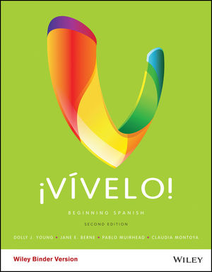 <p>&iexcl;V&iacute;velo!</p>: Beginning Spanish, 2nd Edition
