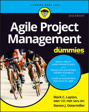 Agile Project Management For Dummies, 2nd Edition (1119405734) cover image