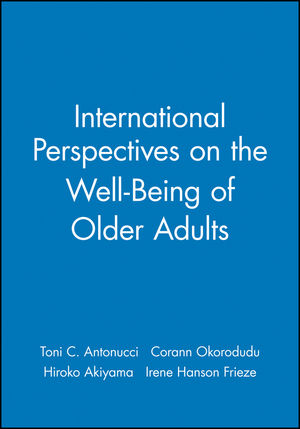 International Perspectives on the Well-Being of Older Adults (1405112034) cover image