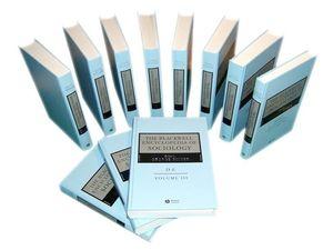 The Blackwell Encyclopedia of Sociology, 11 Volume Set