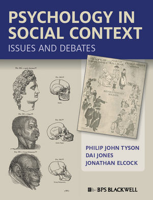 Psychology in Social Context: Issues and Debates (1444396234) cover image