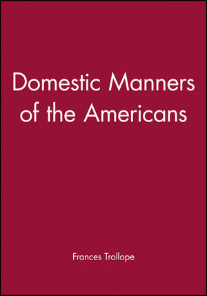 Domestic Manners of the Americans (1881089134) cover image