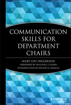 Communication Skills for Department Chairs (1882982134) cover image