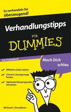 Verhandlungstipps für Dummies Das Pocketbuch (3527637834) cover image