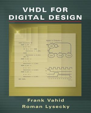 VHDL for Digital Design (0470052635) cover image