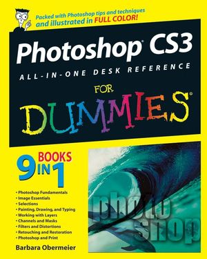 Photoshop CS3 All-in-One Desk Reference For Dummies (0470173335) cover image