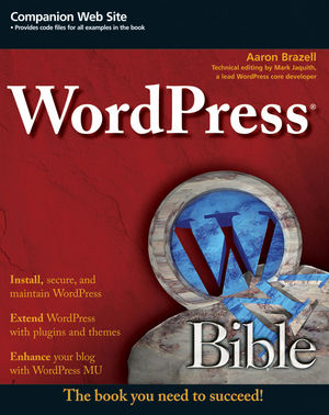 WordPress Bible (0470568135) cover image