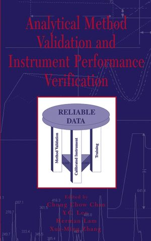 Analytical Method Validation and Instrument Performance Verification (0471259535) cover image