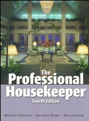 The Professional Housekeeper, 4th Edition (0471291935) cover image