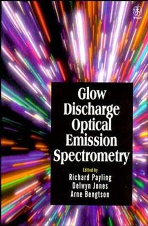 Glow Discharge Optical Emission Spectrometry (0471966835) cover image