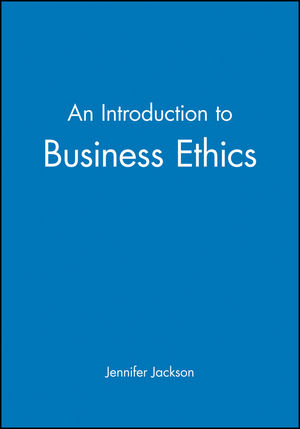 An Introduction to Business Ethics (0631195335) cover image
