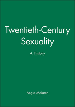 Twentieth-Century Sexuality: A History (0631208135) cover image