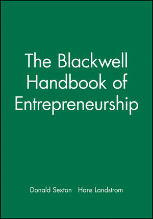 The Blackwell Handbook of Entrepreneurship (0631215735) cover image