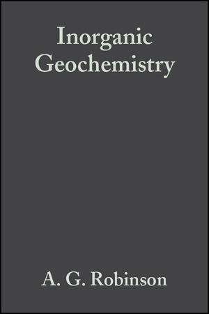 Inorganic Geochemistry: Applications to Petroleum Geology (0632034335) cover image