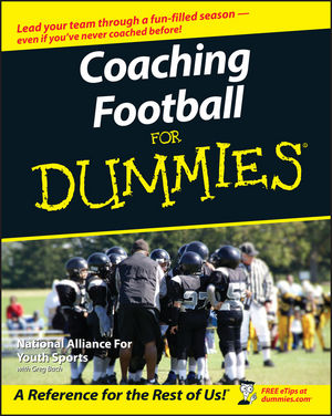 Coaching Football For Dummies (1118052935) cover image