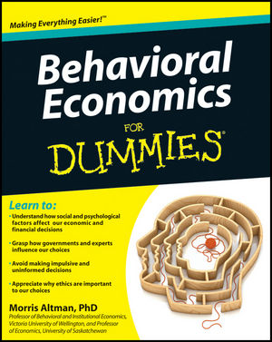 Behavioral Economics For Dummies (1118085035) cover image