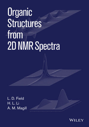Organic Structures from 2D NMR Spectra (1118868935) cover image